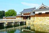 Castillo de hiroshima en hiroshima, japón datan de 1590 — Foto de Stock