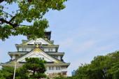 大阪城堡,大阪,日本 — 图库照片