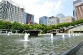 Imperial coloque el punto de vista de los edificios en tokio, japón — Foto de Stock
