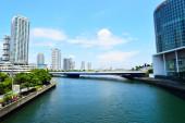 Ver edificios altos en yokohama, japón — Foto de Stock