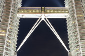 Petronas Twin Kuala Lumpur, Malaysia — Stock Photo