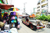 Baclaran market shoppers paradise in South Manila — Stock Photo