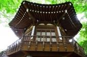 Korea House place in Seoul, South Korea — Stock Photo