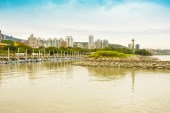 Tamsui District view inTaipei, Taiwan — Stock Photo