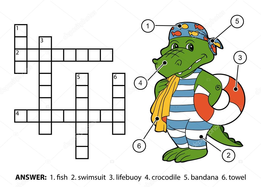 Картинка для детей пловец