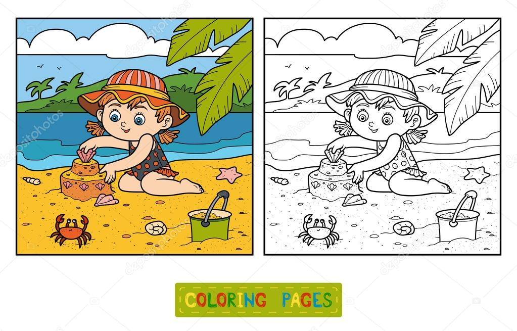 Игры песочные раскраски