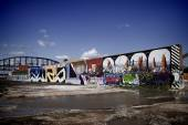 Grafitti art in St. Louis, Missouri — Stock Photo