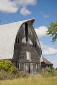 A classic old barn in Rotterdam, New York — Stock Photo