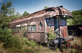 Old Dining Car — Stock Photo