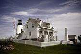 ピマクイッド ・ ポイント灯台 — ストック写真