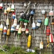 Maine Lobster Buoys — Stock Photo #52616419