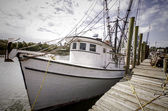 Shrimp Boats — Stock Photo