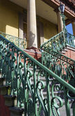 Staircase of Market Hall in Charleston, SC — Stock Photo