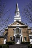 First Presbyterian Church - Schenectady, NY — Stock Photo
