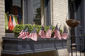 Patriotic Homefront — Stock Photo