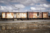 Rust on the Rails — Stock fotografie