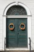 Holiday Welcome — Stock Photo