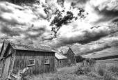 Rural America Recedes — Stock Photo
