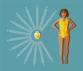 Honey and people  — Cтоковый вектор