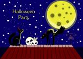 Halloween party — Vector de stock