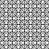 Seamless pattern in black and white — Stock Vector