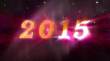 New Year 2015 — Stock Video