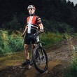 The young man cycling Cross-country — Stock Photo #51893095