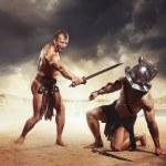 Gladiator won — Stock Photo #55739273