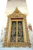 Thai arch entrance to temple  — Stock Photo
