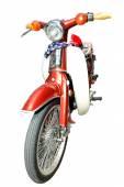 Retro Motorcycle isolated on white background — Fotografia Stock