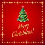 Merry christmas card — Stock Vector #53823117