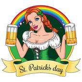 St Patrick's day — Stock Vector