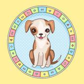 Petit chien — Vecteur