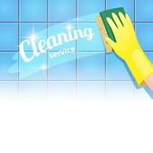 Background for cleaning service — ストックベクタ