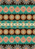 Abstract vector ethnic seamless pattern. — Stock Vector