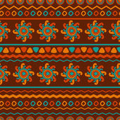 Abstract vector ethnic seamless pattern. Use for wallpaper, patt — Cтоковый вектор