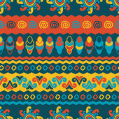 Abstract vector ethnic seamless pattern. Use for wallpaper, patt — 图库矢量图片