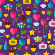 Abstract colorful gifts seamless pattern. Birthday, Valentines,  — Vecteur #63603671