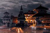 Midnight in Bhaktapur — Stock Photo