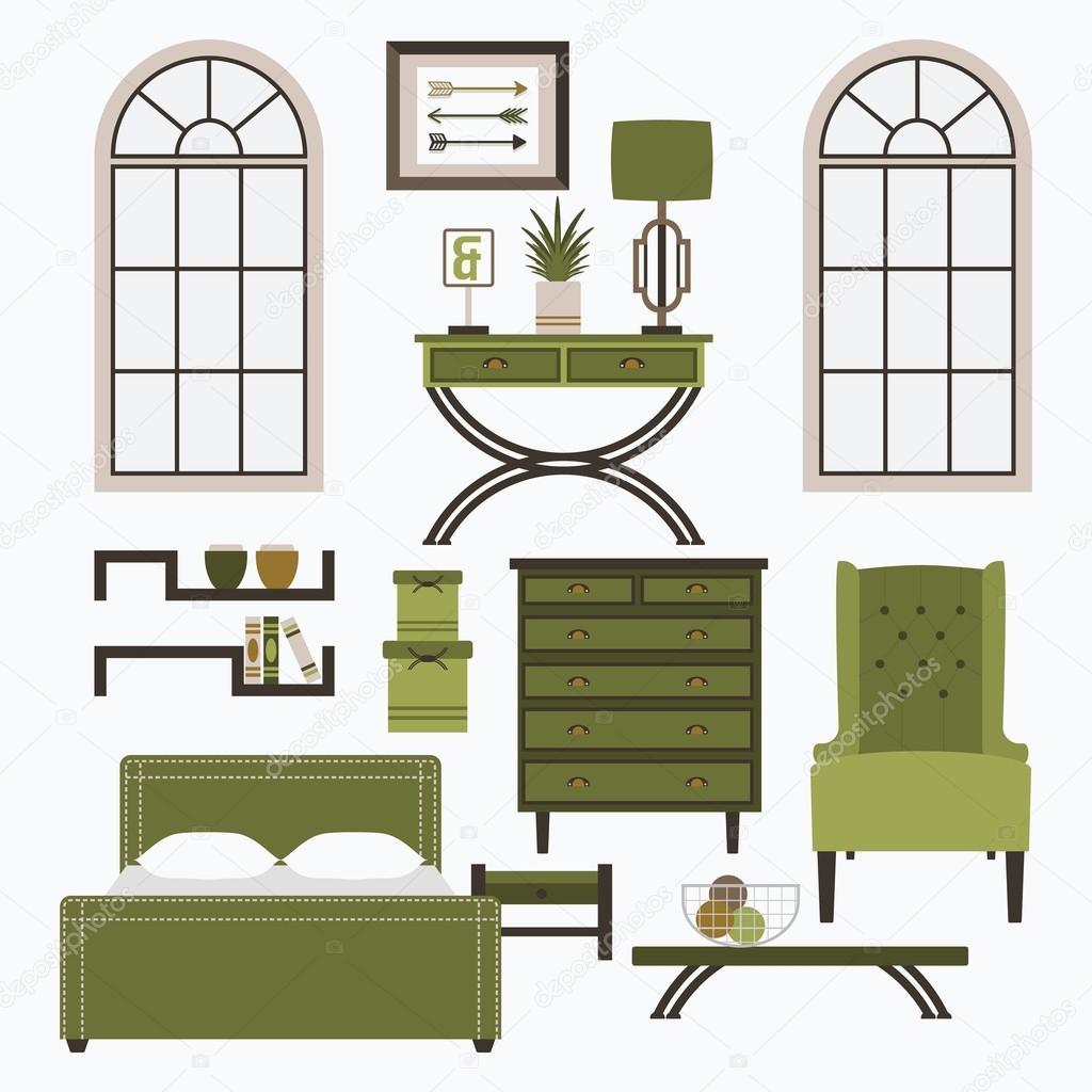Muebles para el hogar y accesorios en color verde brazo for Mobili di design san diego