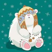 Polar bear cub — Stock Photo