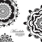 Mandala — Stock Vector