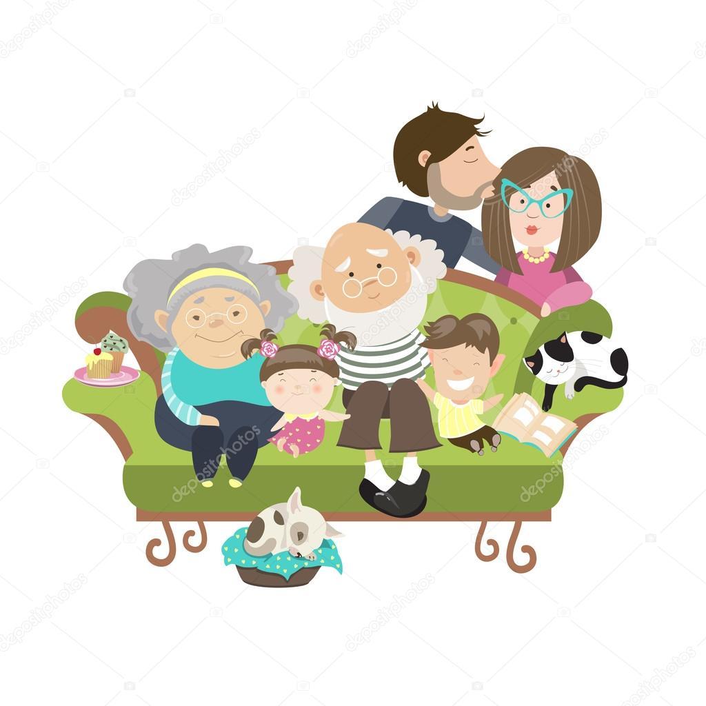 скачать мать и сын бабуля и внук