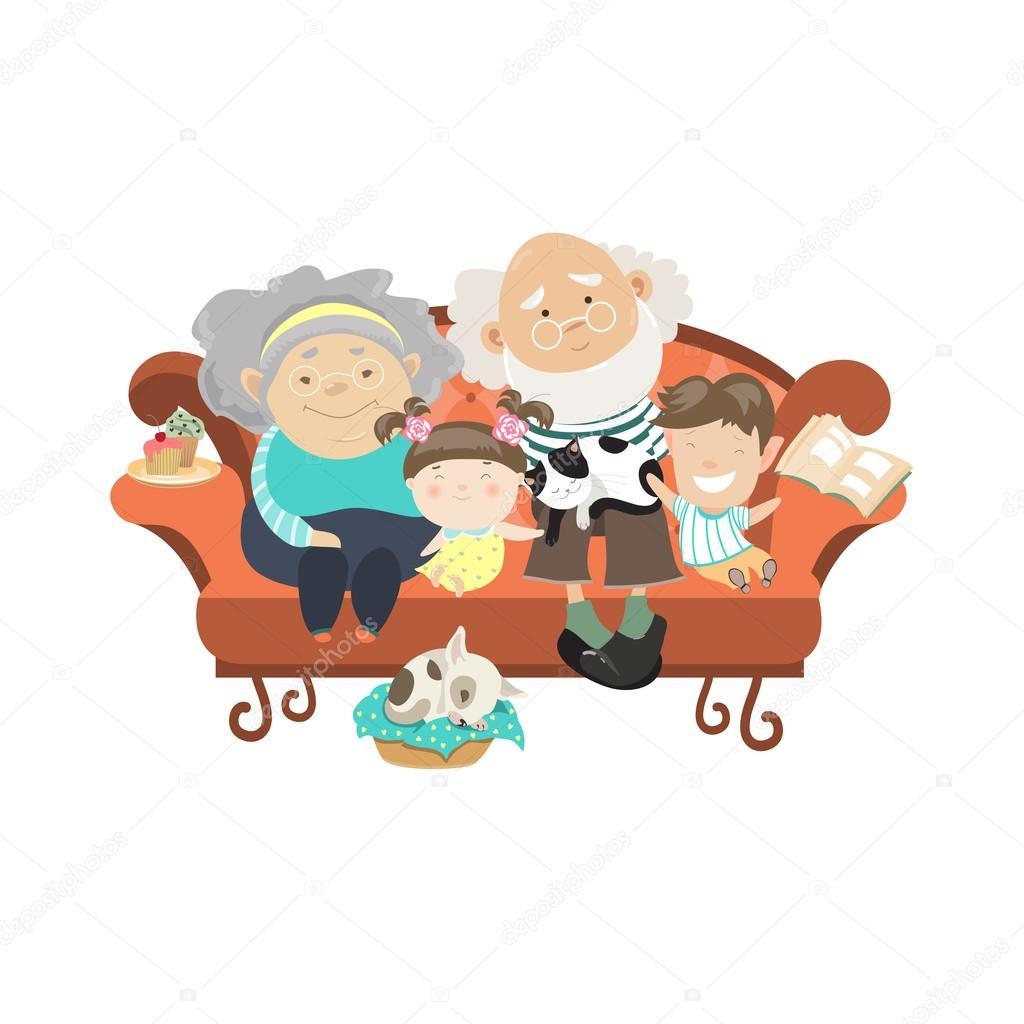Русские старухи и внуки 5 фотография