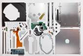 Disassembled computer optical drive cd dvd rom — Stock Photo