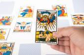 Draw tarot : Judgement — Stock Photo