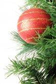 χριστούγεννα διακόσμηση μπάλα — Φωτογραφία Αρχείου