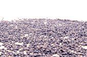 Plastic polymer granules — Stock Photo