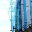 Постер, плакат: Construction scaffolding