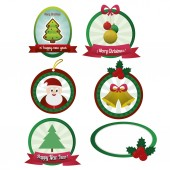 Noel nesneler — Stok Vektör